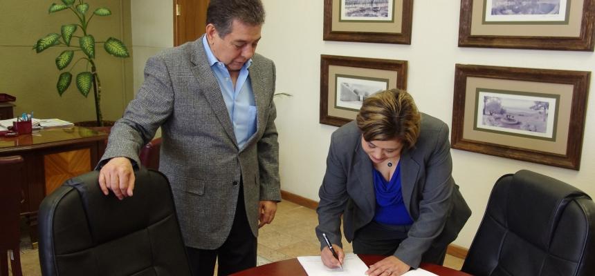 Firma de Comodato del Centro Comunitario del Km. 29 - FPZ