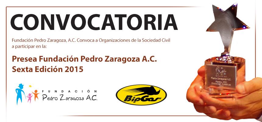 Convocatoria Presea Fundación Pedro Zaragoza - FPZ