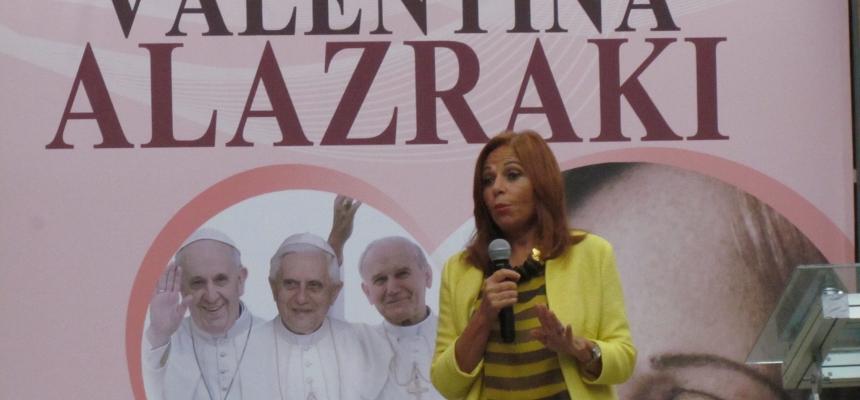 Conferencia de Valentina Alazraki Desde el Vaticano hasta Juárez - FPZ