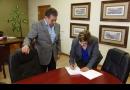 Firma de Comodato del Centro Comunitario del Km. 29