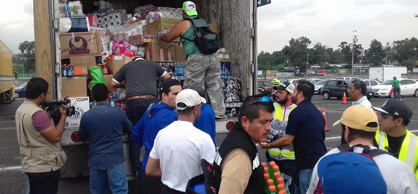 Apoyo de Cd. Juárez a los damnificados por los sismos en CDMX. - FPZ