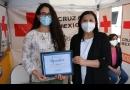 ENTREGA DE EQUIPO DE PROTECCIÓN A CRUZ ROJA MEXICANA
