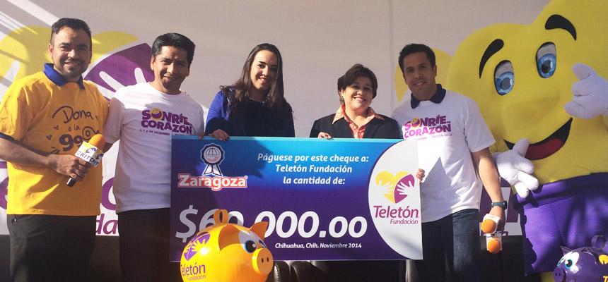 Realizan donativo para Telet�n Fundaci�n