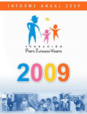 Informe de actividades 2009 - Fundación Pedro Zaragoza