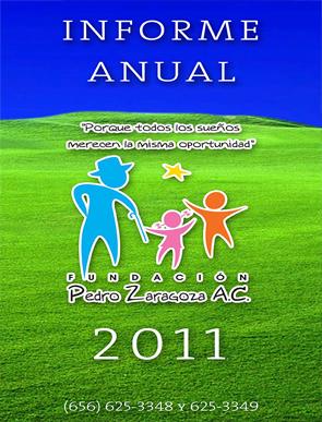 Informe de actividades 2011 - Fundación Pedro Zaragoza