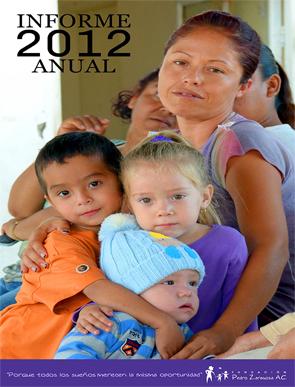 Informe de actividades 2012 - Fundación Pedro Zaragoza
